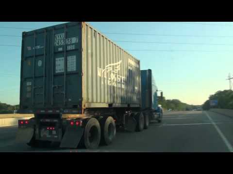 NYK Logistics Container Truck