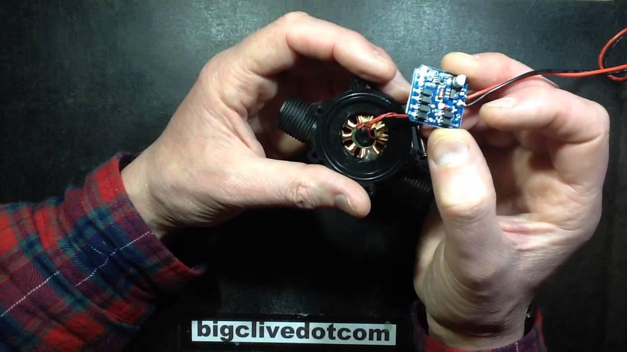 A Look Inside A Micro Water Turbine Youtube