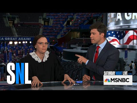 Thumbnail: Weekend Update: Ruth Bader Ginsburg at the RNC - SNL