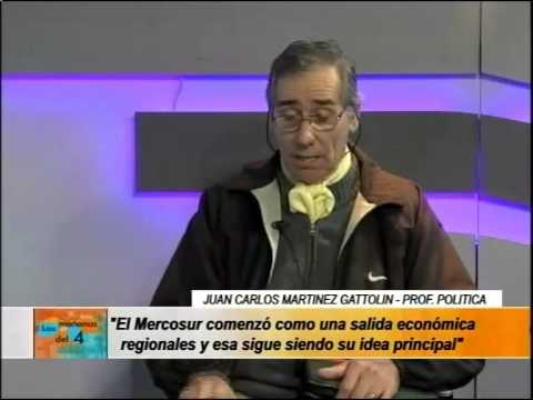 El profesor Juan Carlos Martinez Gattolin explica que es el PARLASUR