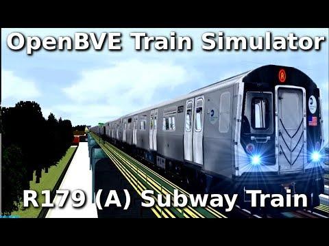 OpenBVE ►A Train to Far Rockaway!◀ (R179) (Onboard Local A Train)