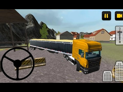 Farm Truck 3D: Wheat - Android Gameplay HD
