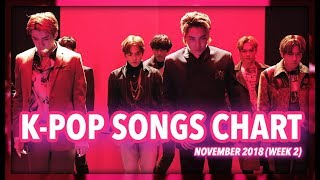 K-POP SONGS CHART | NOVEMBER 2018 (WEEK 2)