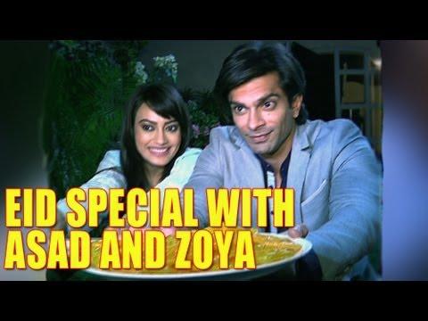 qubool hai - eid special with asad and zoya
