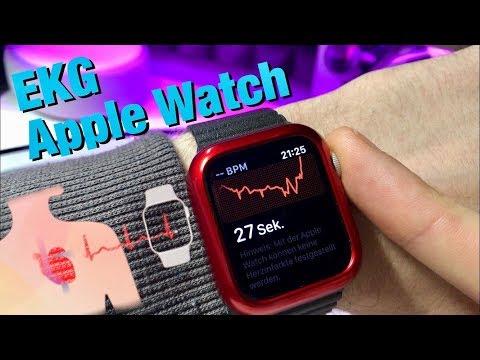 Endlich : Apple Watch EKG Funktion in Deutschland verfügbar - Hier mein 1.Test