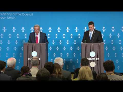 Joint press conference of Jüri Ratas and Jean-Claude Juncker