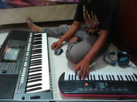 Sampling Musik Kuntulan Banyuwangi pada Keyboard Yamaha PSRS 770 feat Casio SA78 - Video2
