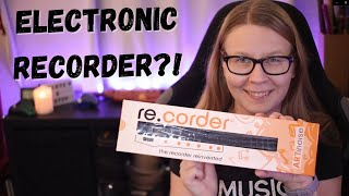 Electronic Recorder?! // ARTinoise re.corder review