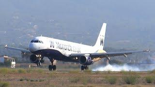 26 landings in 3 minutes at Palma de Mallorca Airport!