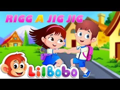 Rig a Jig Jig Nursery Rhyme | Children's Songs and Lyrics