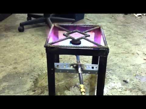 Simple Homemade Propane Burner