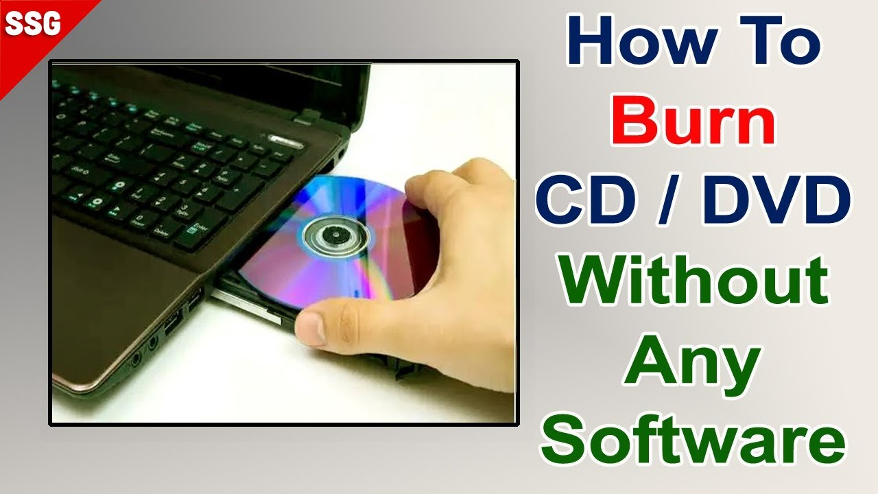 How to create an audio cd from mp3 files using free software.