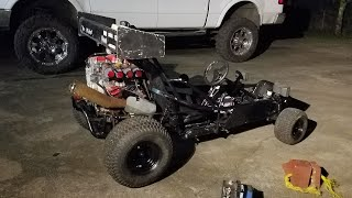 Christine, 650cc 73hp widowmaker yamaha motorcycle engine swapped race go kart