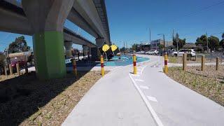 POV: Djerring Trail (Caulfield-Dandenong Rail Trail) | Cycling Melbourne