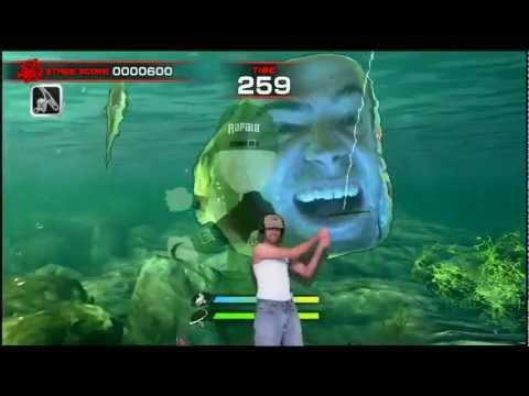 Bobfish [bob rapala for kinect] youtube.