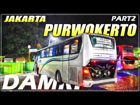 MENOLAK TUA, Naik Bis Milik Negara,Part2 Trip Bis DAMRI Jakarta-Purwokerto MB 1521