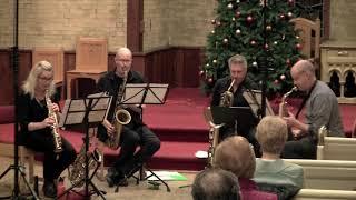 "Gordon Goodwin's ""Waltz"" performed by the Toronto Sax Quartet"