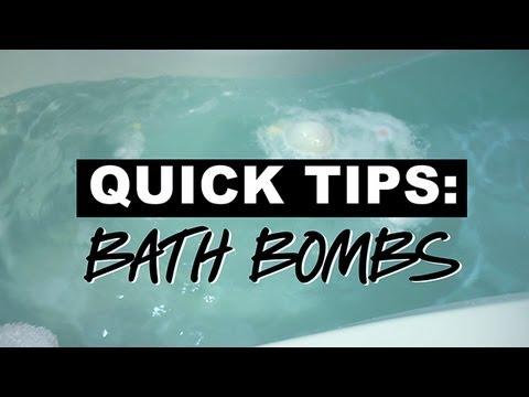 Lush Quick Tips: Bath Bombs