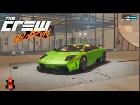 The Crew Wild Run | Drift Spec | Lamborghini Murcielago   YouTube