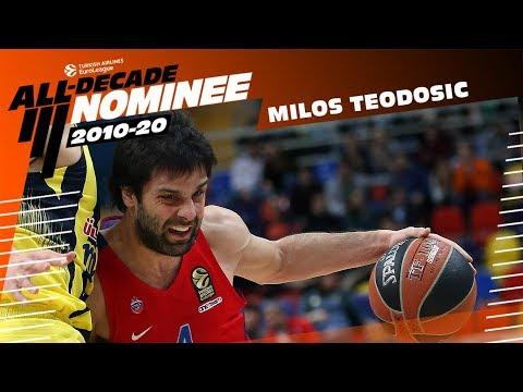 All-Decade Nominee: Milos Teodosic