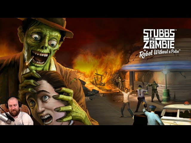 Stubbs the Zombie in Rebel Without a Pulse walkthrough part 1 | PS4 PRO Gameplay