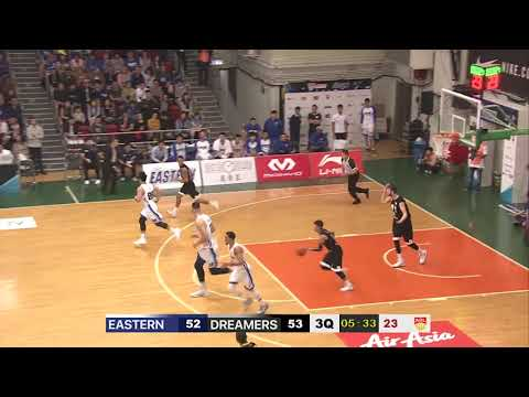 Hong Kong Eastern v Formosa Dreamers | CONDENSED HIGHLIGHTS | 2018-2019 ASEAN Basketball League