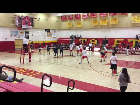Boys Volleyball: Taft vs. Venice | CIF-LACS Playoffs Second-Round (2017)