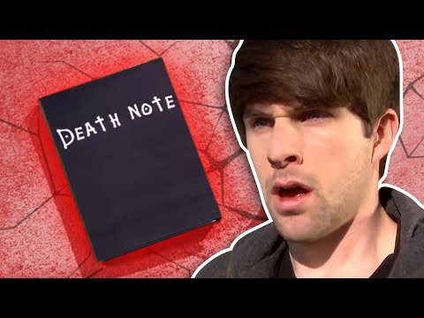 Thumbnail: REAL DEATH NOTE!