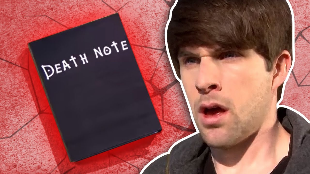 Real Death Note Youtube