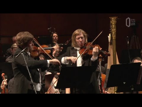 Britten - Concerto for violin and viola (2 mvt) - Baranov&Belugin