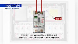 과전압보호장치 2D 설…