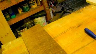 How To Make A Rustic Plank Table By Jim The Rustic Furniture Artist Part 6