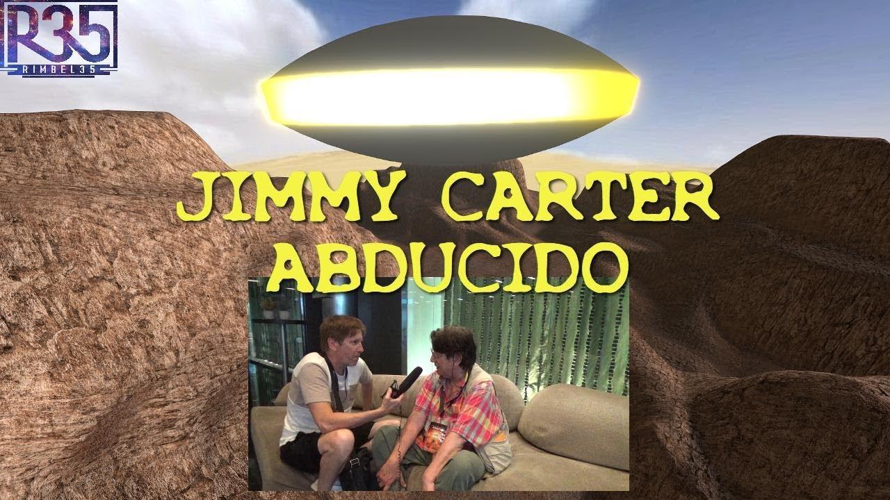 """""""EL PRESIDENTE JIMMY CARTER FUE ABDUCIDO PARA CAMBIAR EL MUNDO"""" - Alfred Webre"""
