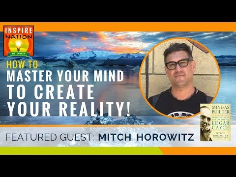 🌟 EDGAR CAYCE Secrets on How to Use the LAW OF ATTRACTION! + Easy Tools & Meditation MITCH HOROWITZ