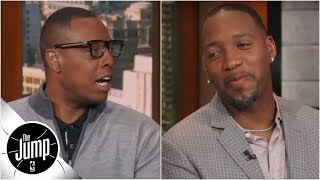 Paul Pierce reacts to Tracy McGrady