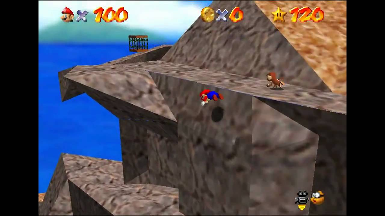 Super Mario 64 - Mystery of the Monkey Cage (TAS)