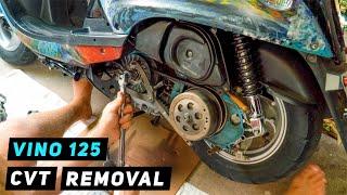 Yamaha Vino 125 CVT Parts Remo…