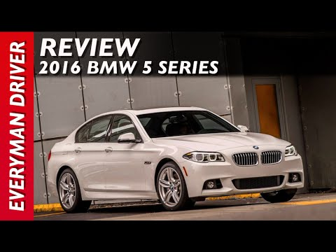 Here's the 2016 BMW 5 Series on Everyman Driver