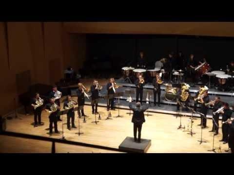 Inauguration Conservatoire d'Aix-en-Provence - cuivres et percussions