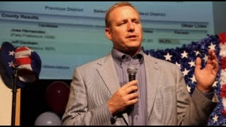 United States Congressman Jeff Denham Victory Speech - Election 2012