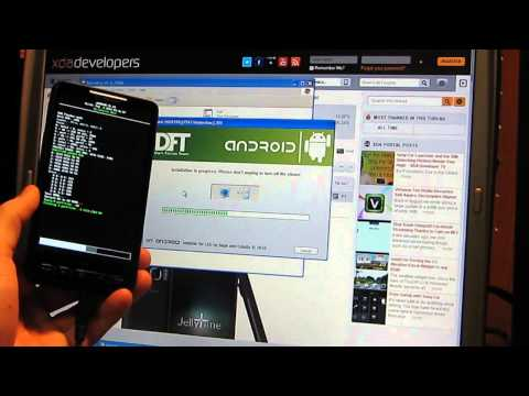 How to Install Android 4.1 Jelly Bean on the HTC HD2 T-Mobile