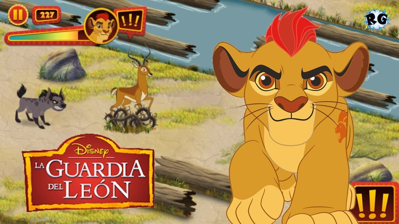 la guardia del leon la aventura de kion disney junior