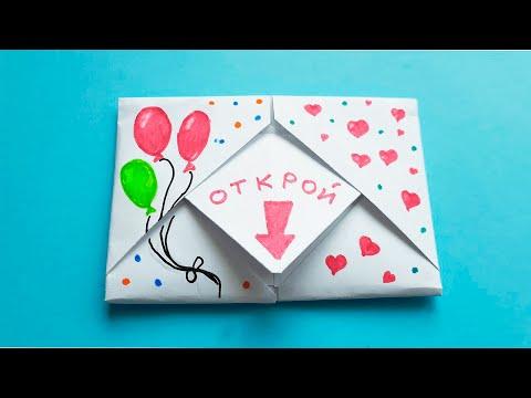 Как сделать своими руками открытку на день рождения своими руками видео уроки