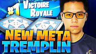 LA NOUVELLE META TREMPLIN SUR FORTNITE ! 30 KILLS - KINSTAAR GAMEPLAY