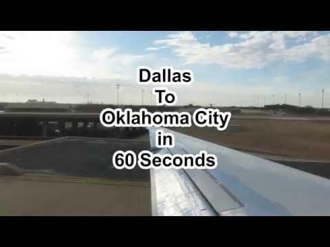 Dallas To Oklahoma City In 60 Seconds