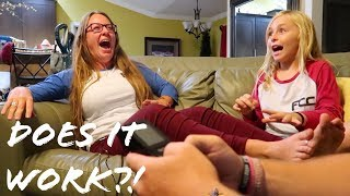 MOTHERS TRY PREGNANCY SIMULATOR!! DOES IT FEEL LIKE A REAL PREGNANCY??