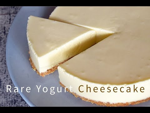 No-Bake Yogurt Cheesecake - How To Make Easy Rare Cheesecake Recipe