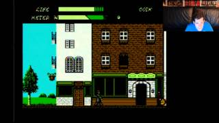 Dr. Jekyll and Mr. Hyde (NES) Beginning to last stage with Mike