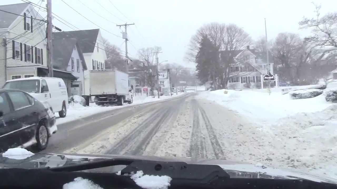 1/22/2014 Snow Plymouth MA*