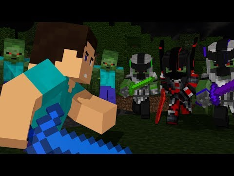 Steve Life: Full Animation - Minecraft Animation Movie (Zombie Apocalypse)